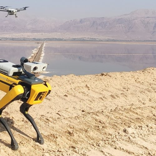 Drone Manufacturer Percepto Secures $45M Investment and Integrates With Boston Dynamics' Spot