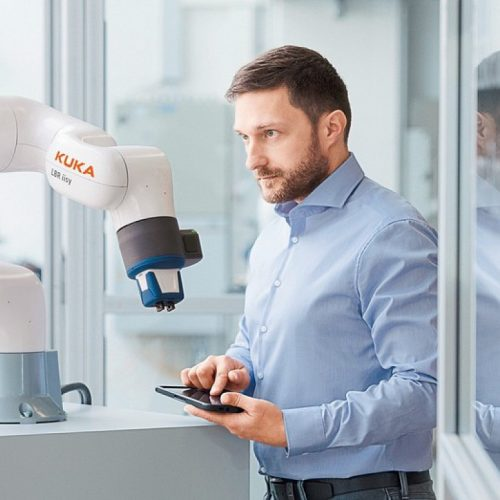 [AUTOMATICA 2018] KUKA Introduces LBR iisy its New Lightweight Cobot Prototype