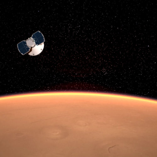 NASA's InSight Lands on Martian Soil