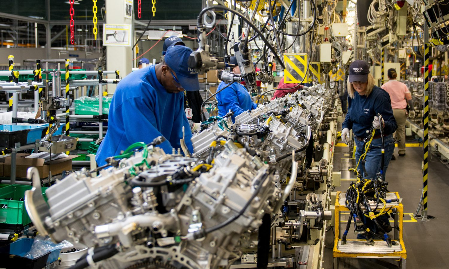 Toyota Engine Plant Cuts Energy Costs With New Air Compressor Controls