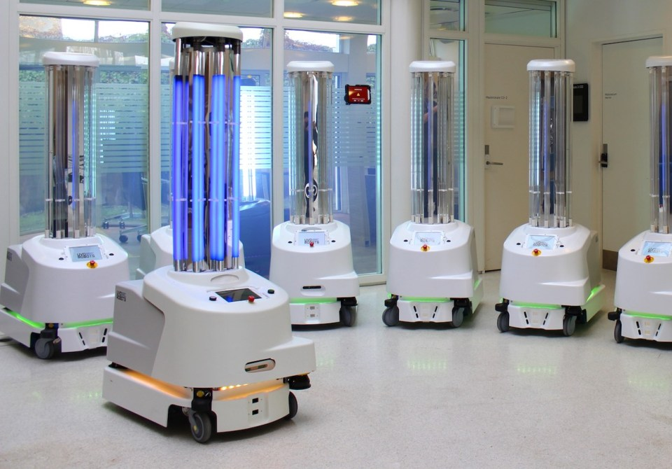 Disinfection Robots Against COVID-19