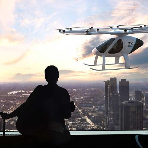 Volocopter Flies Over Singapore