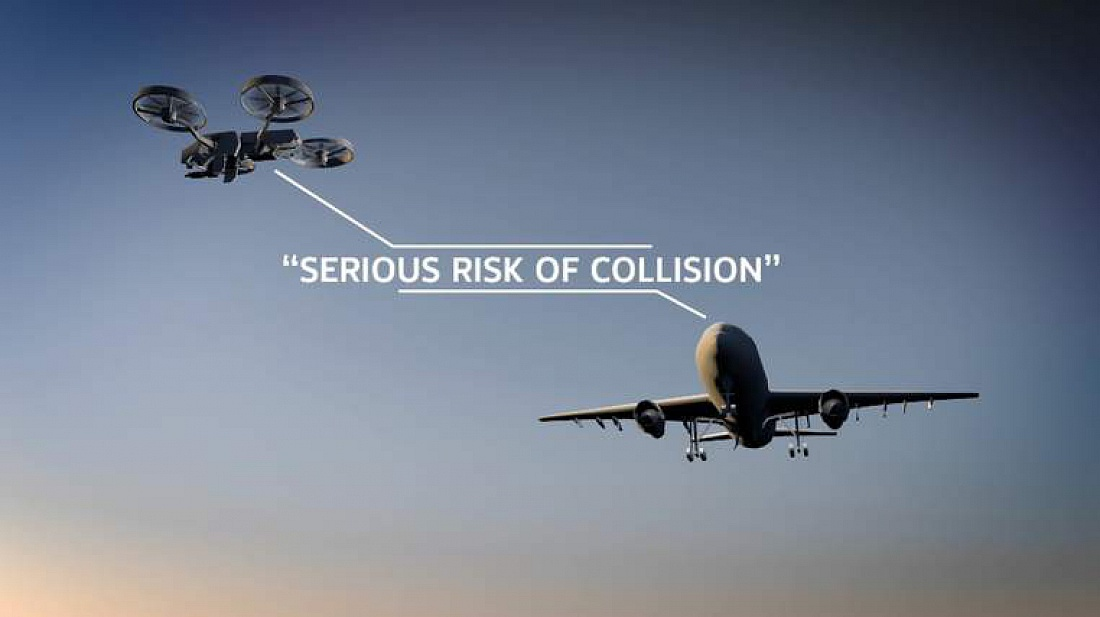 Drones vs. Airplanes: How to Simulate Collisions