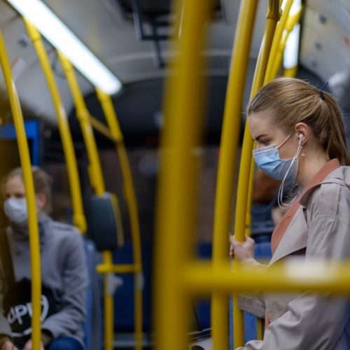 Safer Travel: Lightweight Public Transport Poles with Anti-Microbial Properties