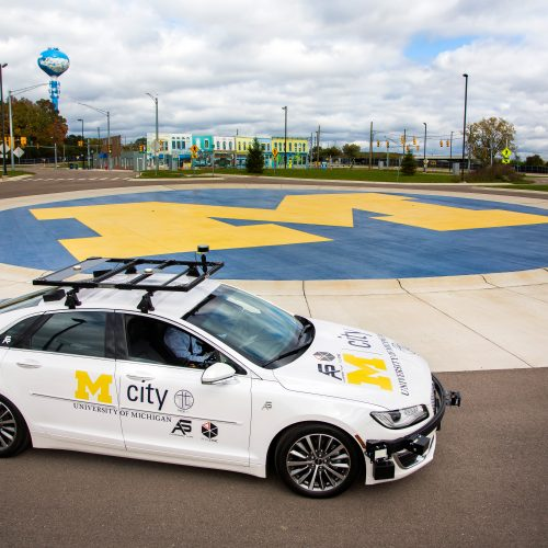 """Fake Cities"" Help Automakers Refine Driverless Car Technology"