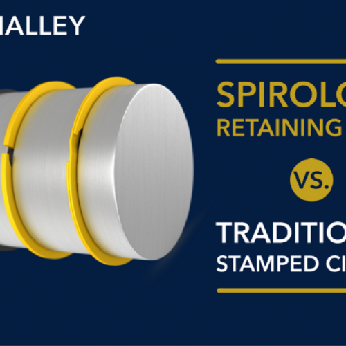 SPONSORED. Spirolox® Retaining Ring vs. Stamped Circlip (by Smalley)